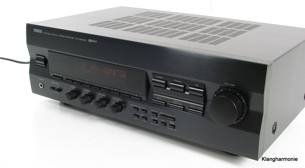 Yamaha rx 396rds stereo receiver in black rc for Yamaha receiver accessories