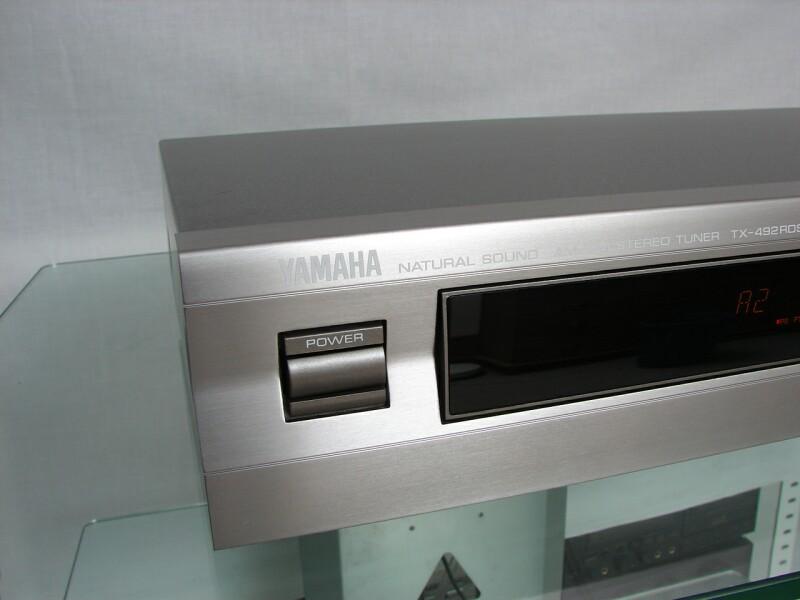 Yamaha TX 492 RDS Tuner Titan